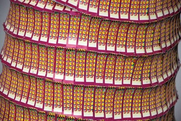 """""""Дом мечты"""", сделанный из 70000 лотерейных билетов. Изображение № 12."""