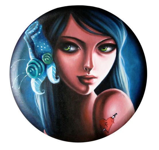 Sarah Joncas – девушки, рыбы измеи. Изображение № 11.