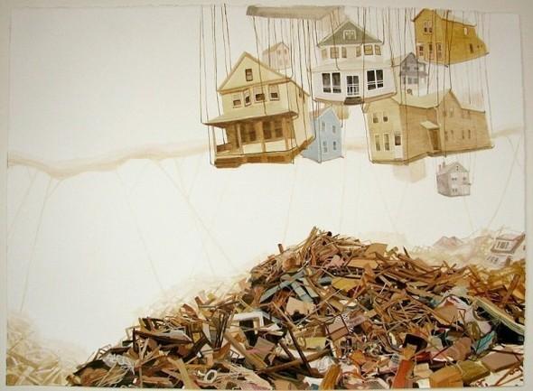 Города сточки зрения иллюстратора ЭмиКэйси. Изображение № 15.