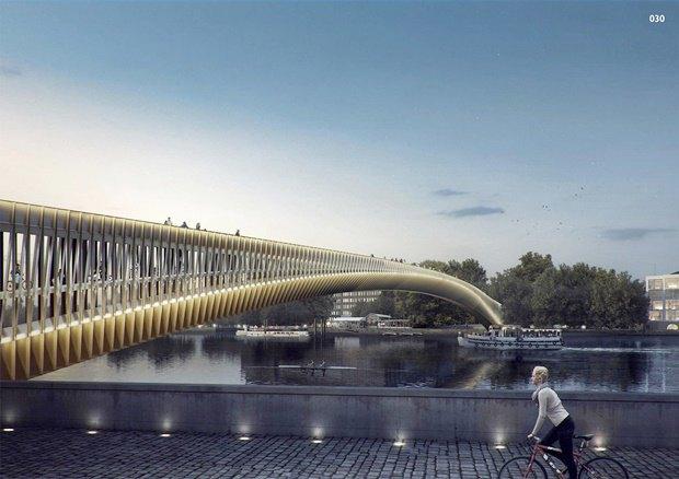 Выложены 74 проекта нового моста через Темзу. Изображение № 54.