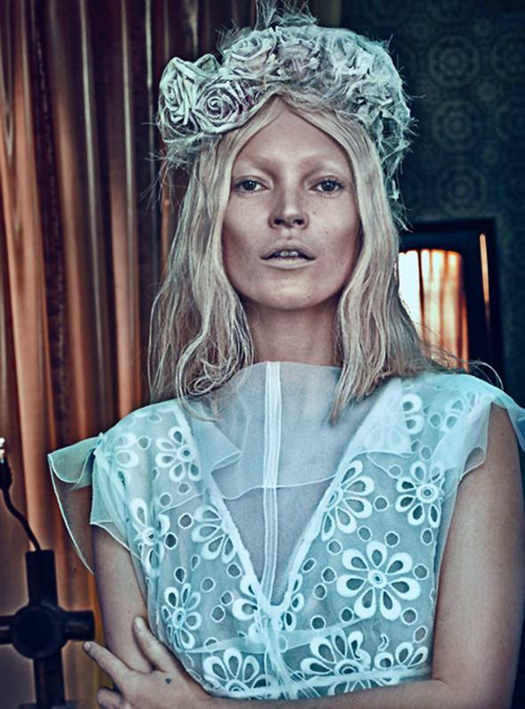 Kate Moss (КЕЙТ МОСС) для W Magazine. Изображение № 3.