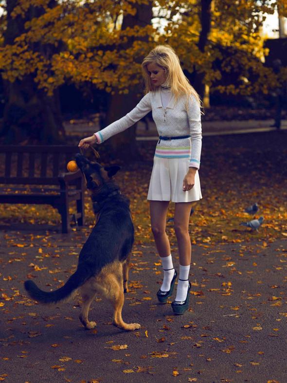 Съёмка: Фрида Осен для Numero. Изображение № 5.
