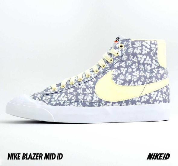 Nike X Liberty Summer Collection/  Blazer Mid iD.. Изображение № 36.