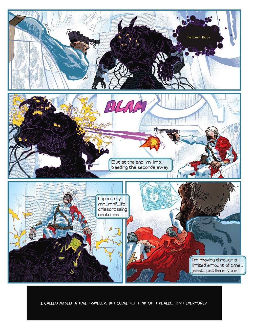 Как стать художником мирового издательства комиксов. Изображение № 10.