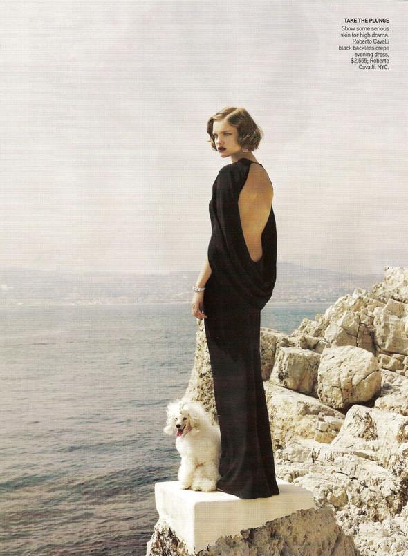 Архивная съёмка: Наталья Водянова в объективе Марио Тестино, 2007. Изображение № 7.