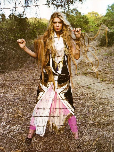 French 'Vogue': Devil Worship IsThe NewBlack!. Изображение № 6.