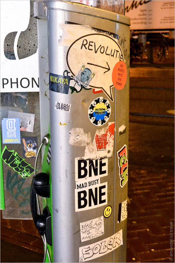 Стрит-арт и граффити Амстердама, Нидерланды. Изображение № 39.