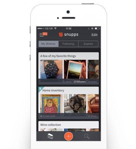 Как приложение Snupps помогает навести порядок в вещах. Изображение № 4.