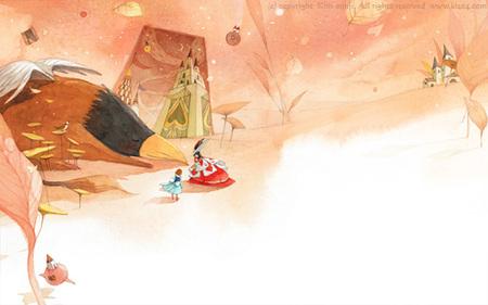 Kimmin ji– акварель видеальном исполнении. Изображение № 16.