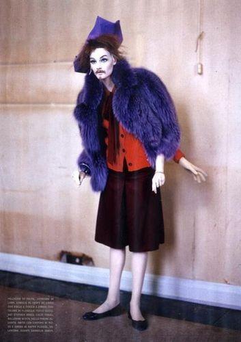Съёмка: Тим Уокер для итальянского Vogue. Изображение № 9.