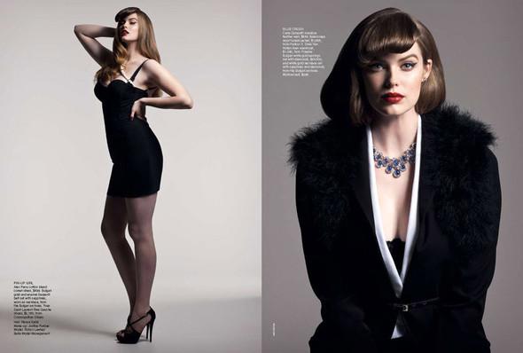 Съёмка: Робин Лоули для австралийского Vogue. Изображение № 7.