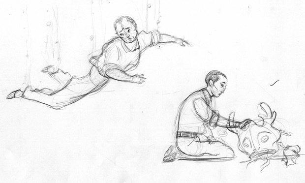 Анимация дня: японец, морской дух и груз прошлого. Изображение № 18.