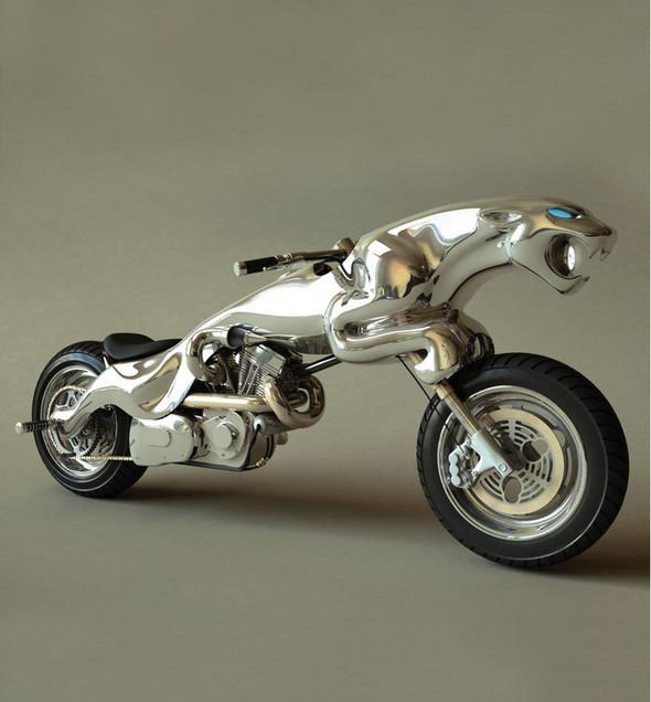 Концепты мотоциклов от Massow Design. Изображение № 4.
