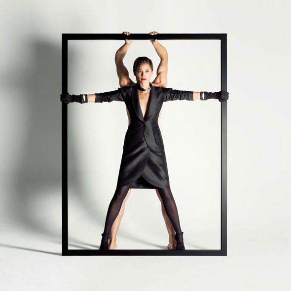 Turlington for YSL and Bally. Изображение № 4.