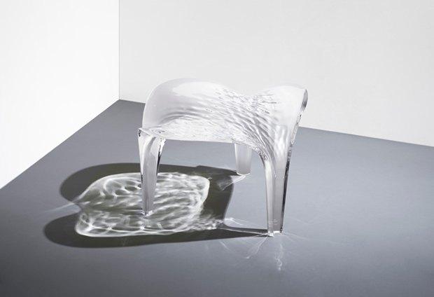 Заха Хадид создала новые предметы мебели для серии Liquid Glacial. Изображение № 2.