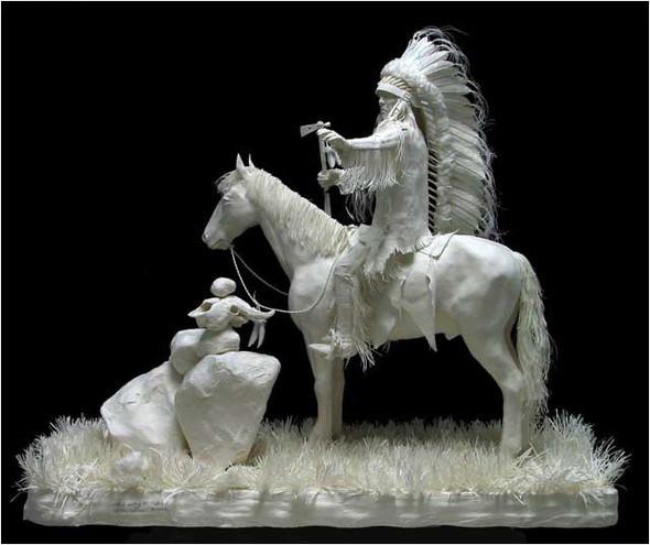 Бумажные скульптуры. Изображение № 47.