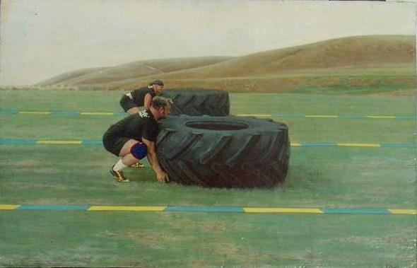 Checkpoint - выставка современной живописи. Изображение № 5.