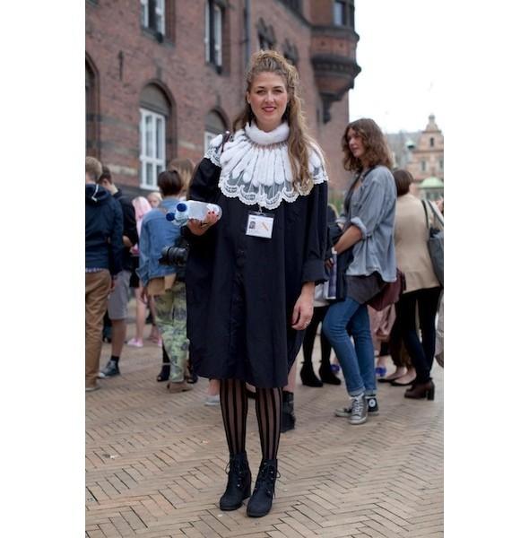 Луки с недель моды в Копенгагене и Стокгольме. Изображение № 24.