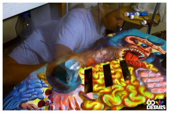 2D sculpture artist: Polet (process & lifestyle). Изображение № 4.