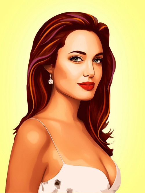 Три грации. Первая – Анджелина Джоли.  . Изображение № 6.