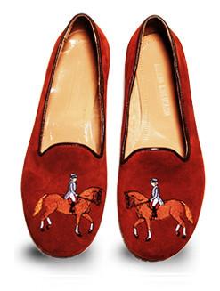 Mario Molinaro - обувь с вышивкой. Изображение № 6.