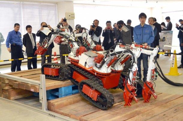 В Японии создали робота-«осьминога» для работ на«Фукусиме-1». Изображение № 2.