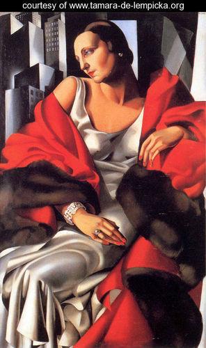 Тамара де Лемпицка – художница и икона Арт Деко. Изображение №10.