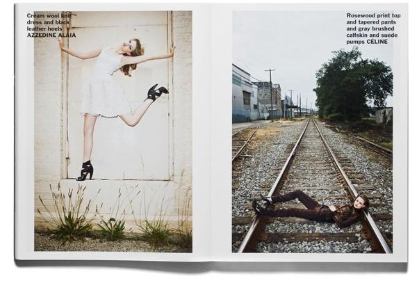 Съёмка: Терри Ричардсон и Линдси Уикссон для Purple Fashion. Изображение № 3.