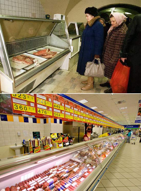 Как изменились прилавки магазинов за 20 лет. Изображение № 5.