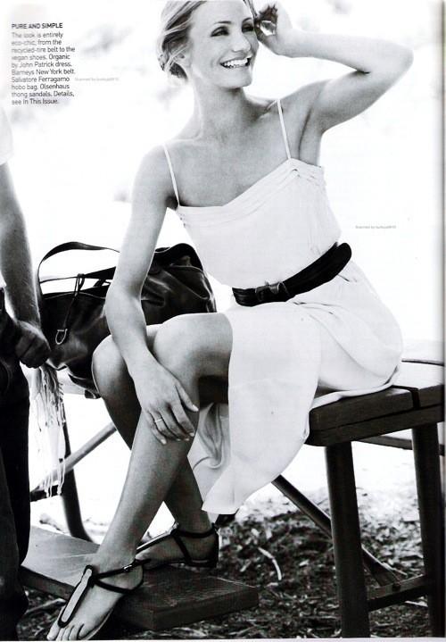 Cameron Diaz, Vogue USJune 2009. Изображение № 9.