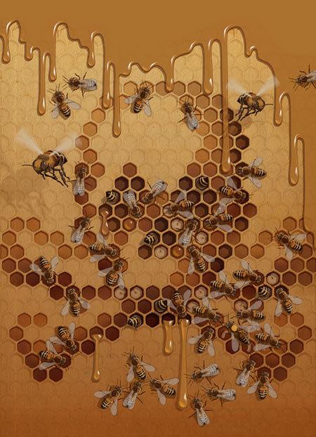 Красивое изабавное виллюстрациях Richarda Wilkinsona. Изображение № 5.