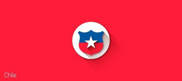 Представлены «плоские» версии гербов национальных сборных . Изображение № 24.