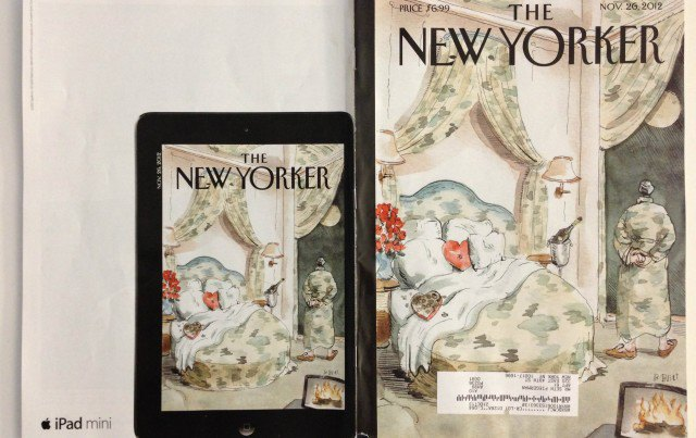Так выглядел выпуск The New Yorker с рекламой-победителем на задней обложке. Изображение № 1.