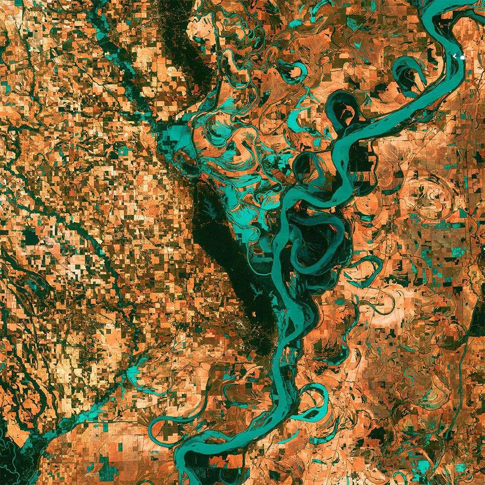 Снимки из космоса: Как люди осваивают и разрушают планету. Изображение № 10.