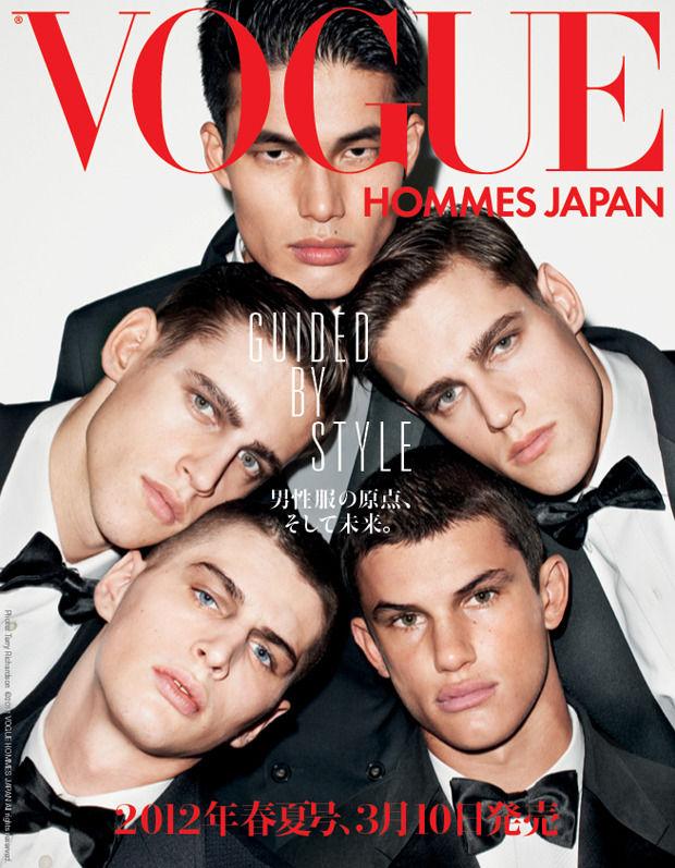 Обложки Vogue Hommes Japan времен Николы Формикетти. Изображение № 3.