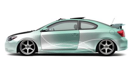 Scionбюджетный вариант дизайнерских авто избудущего. Изображение № 6.
