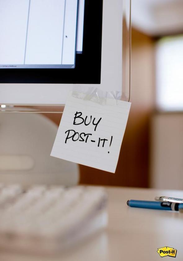Изображение 4. Креативная реклама Post-it.. Изображение № 4.