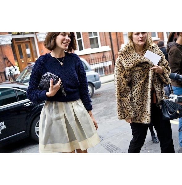 Изображение 93. На полях: 10 тенденций уличного стиля с прошедших недель моды.. Изображение № 93.