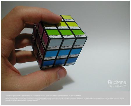 Рубитон (кубик Рубика Pantone). Изображение № 3.