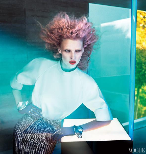 Новые съемки: Vogue, 25 Magazine, Exit. Изображение № 40.