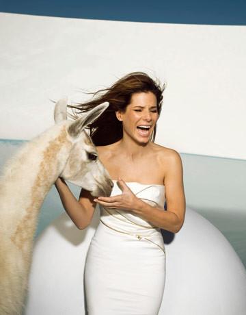 Sandra Bullock, Harper's Bazaar June 2009. Изображение № 6.