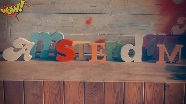 Буквы в интерьере. Изображение № 10.