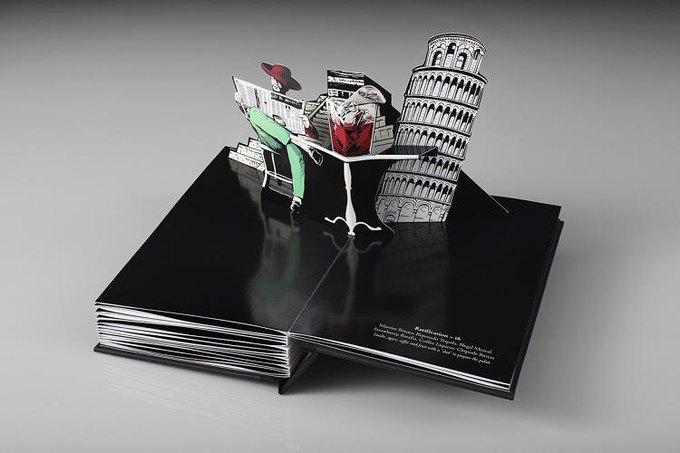 Для бара Savoy создали «трехмерное» коктейльное меню. Изображение № 9.