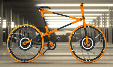 Складной велосипед ECO. Изображение № 10.