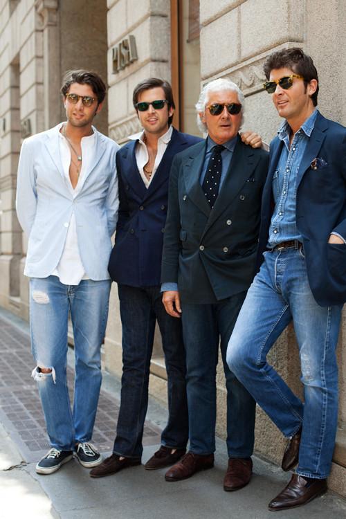 Изображение 2. Как одеваются итальянцы?.. Изображение № 13.