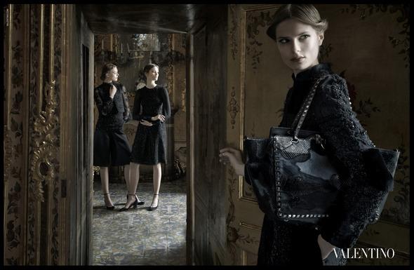 Кампания: Valentino A/W '12. Изображение № 6.