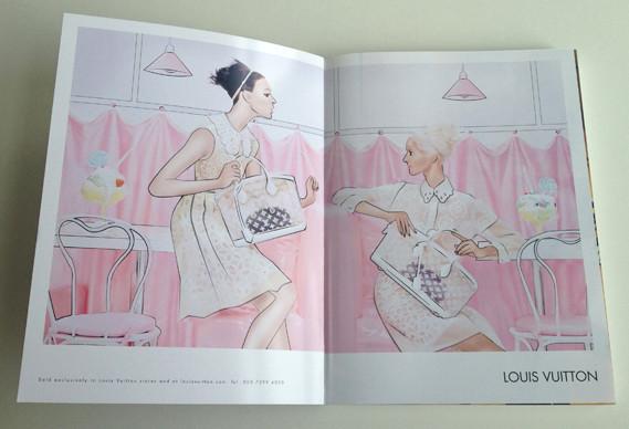 Журнал о моде Herself: только иллюстрации и никаких фотографий. Изображение № 2.