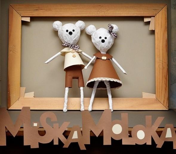 MiskaMoloka душевные игрушки ручной работы из бумаги. Изображение № 7.