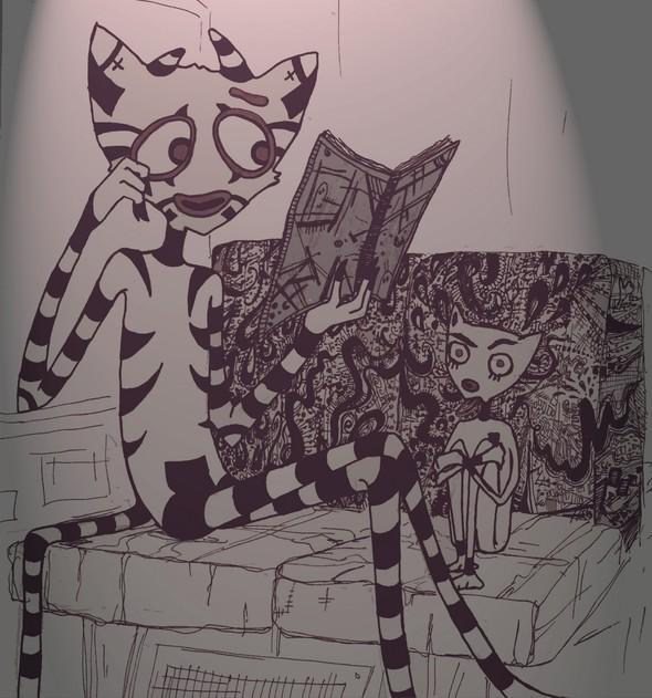 Сентиментально по-кошачьи. Изображение № 11.