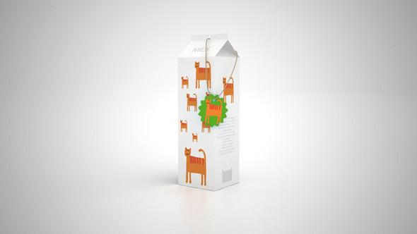 Новый дизайн упаковки молока плюс позиционирование. Изображение № 7.